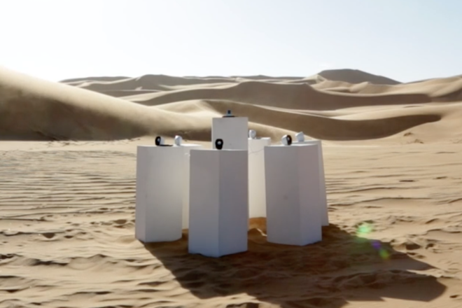 "New art installation in the desert plays Toto's 'Africa' for ""all eternity"""