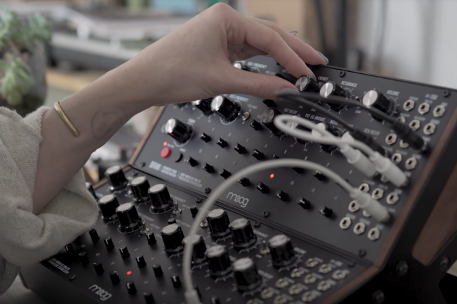 ​Watch Discwoman artists explore Moog's new drum machine Drummer From Another Mother