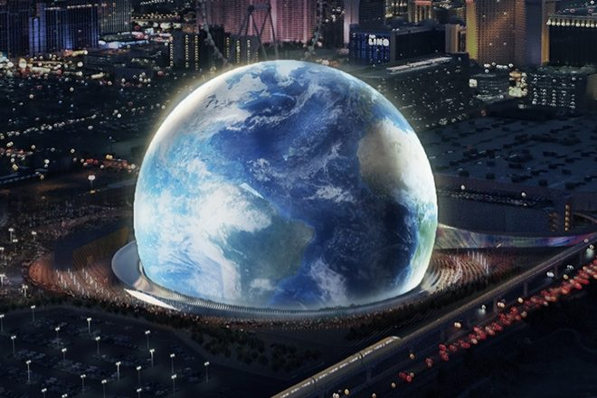 Plans for a massive sphere shaped london venue have been - Madison square garden concert capacity ...