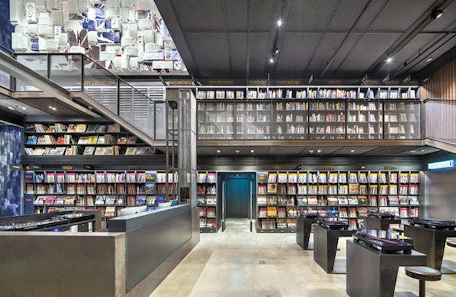 Vinyl library with over 10,000 records opens in Seoul