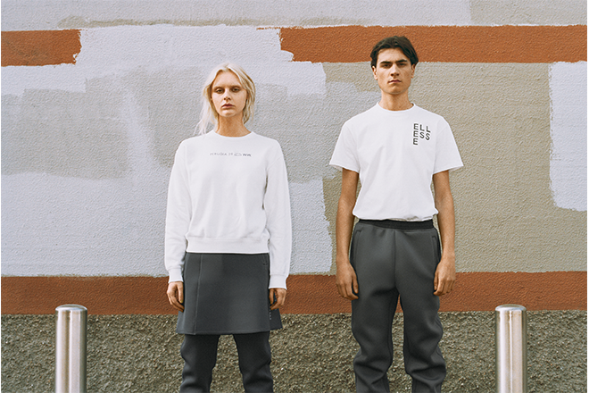 ​Wood Wood and ellesse combine minimalist design with iconic sportswear heritage