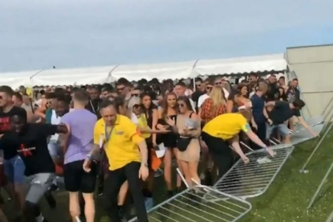 Stampede at We Are FSTVL leaves numerous attendees injured