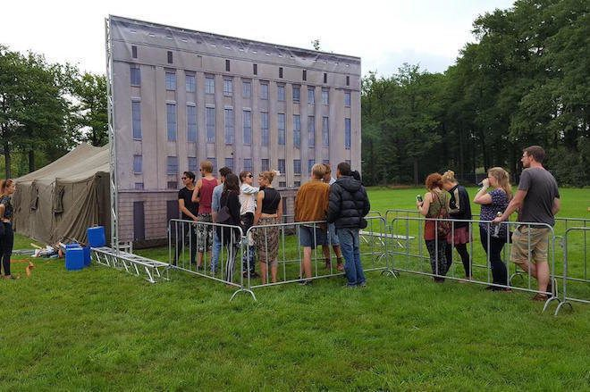 A festival created a mini Berghain just to deny people at the door