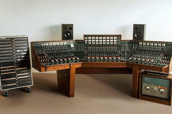 Abbey Road Studios recording console sells for $1.8 million