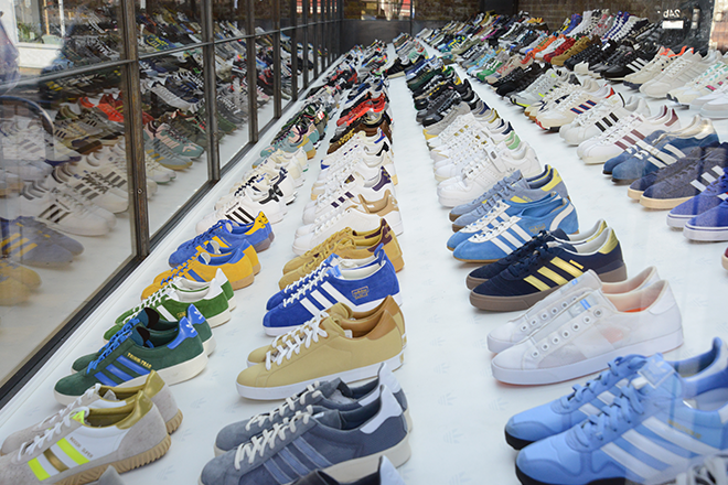 adidas SPEZIAL exhibition launches at British Textile Biennial in Blackburn