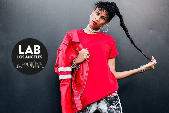 AlunaGeorge for International Women's Day in The Lab LA