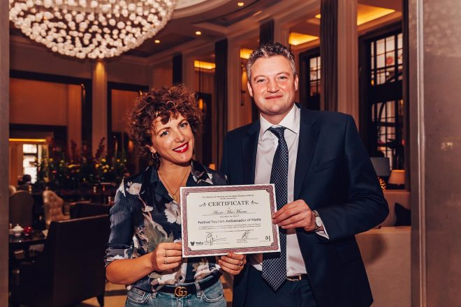 Annie Mac crowned Festival Ambassador of Malta