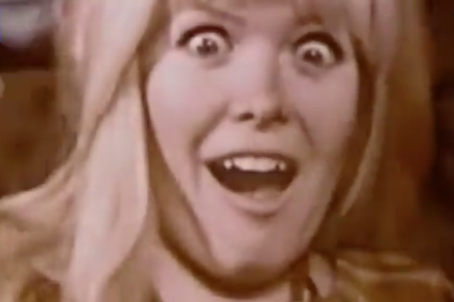 This bizarre anti-LSD video from 1969 is about a woman and her talking hotdog