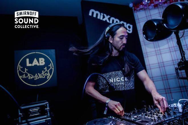 Watch Steve Aoki and Netsky lay down Lab sets at the #Smirnoffhouse