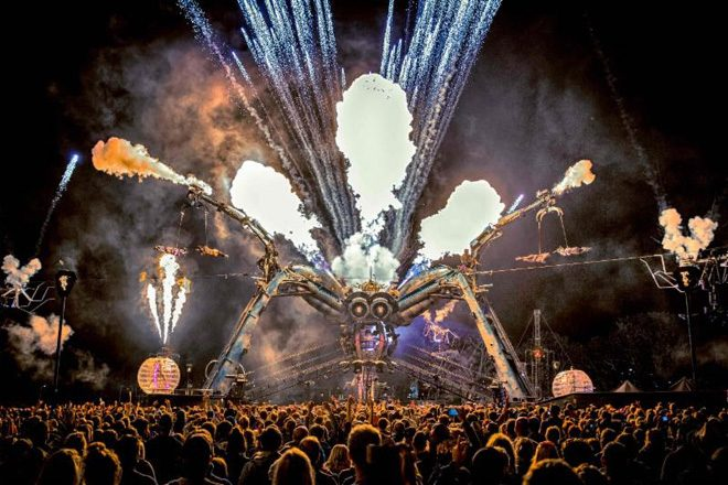 RAM Records and Leftfield have been revealed for Arcadia's 10th anniversary