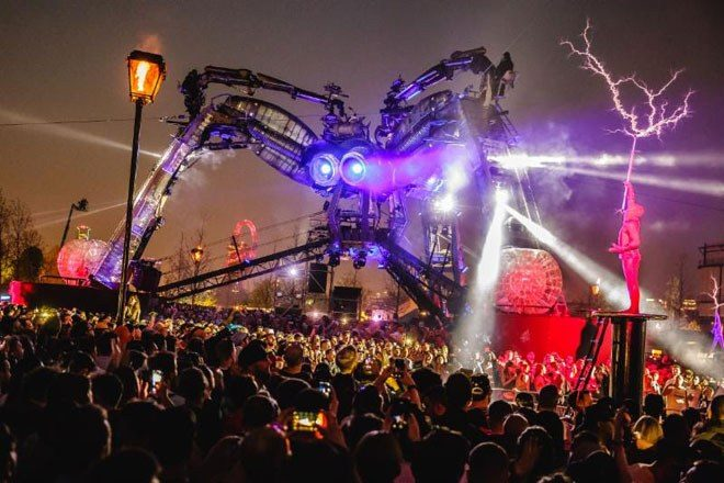 Arcadia London has announced its first set of headliners