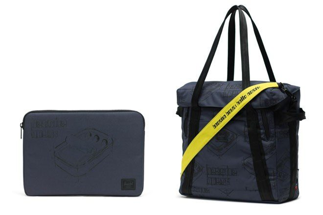 Check out the bag collab between Herschel and Beastie Boys