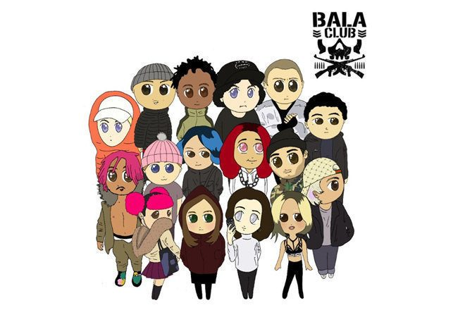 Listen to the first compilation from Bala Club