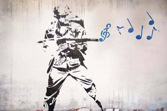 Banksy is going to be DJing at festivals this summer