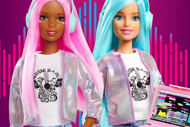 Mattel has launched a new music producer Barbie