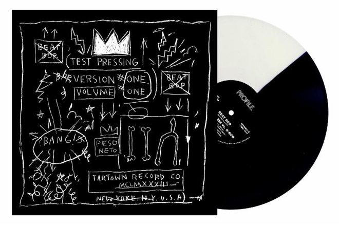A 1983 Jean Michel-Basquiat-produced single has got a vinyl reissue
