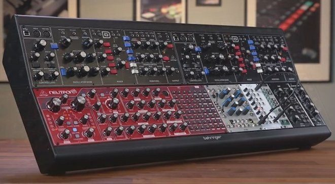 Behringer unveils Eurorack case and new Moog modules