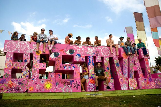 A man has been arrested on suspicion of murder at Bestival