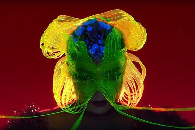 Björk unveils captivating new video for 'Notget'