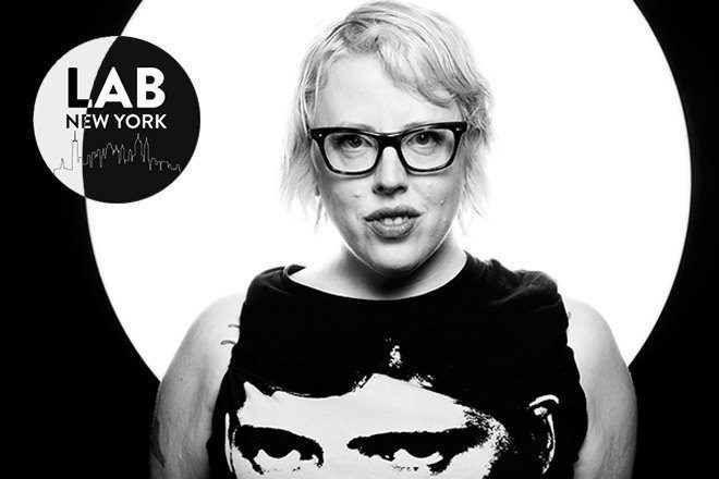 The Black Madonna for International Women's Day in The Lab NYC