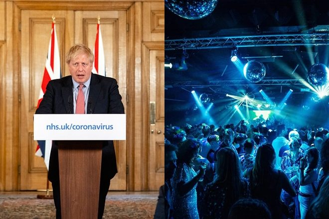 Boris Johnson finally comments on plans for reopening nightclubs