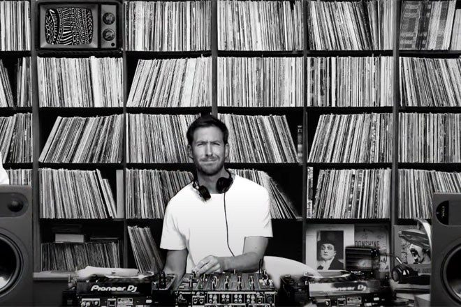 Watch Calvin Harris' Love Regenerator DJ live streams
