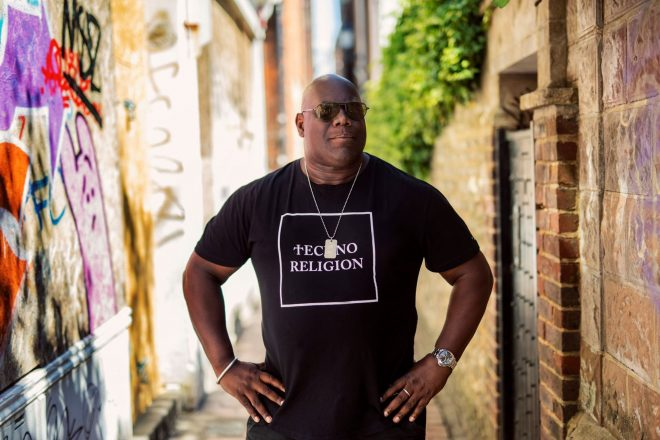 Carl Cox unveils Oh Yes, Oh Yes! book cover