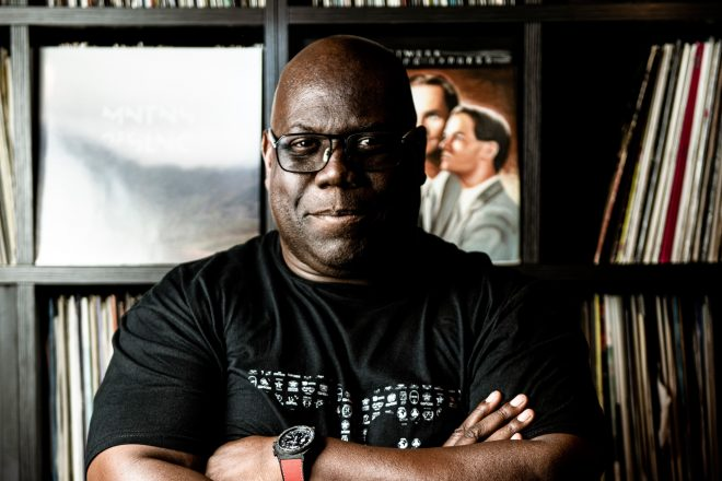 Listen to a new drum 'n' bass mix from Carl Cox