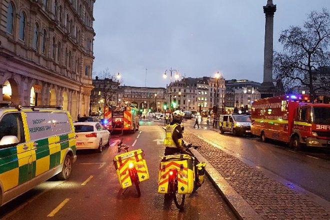 London nightclub Heaven had to be evacuated this morning