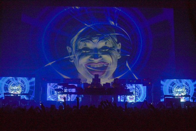 The Chemical Brothers' set at TRNSMT could be heard from eight miles away, according to locals