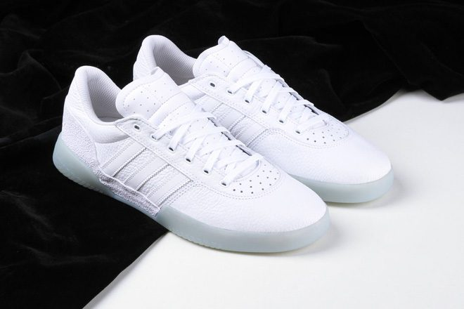 Adidas Skateboarding just dropped a new sneaker silhouette, the City Cup