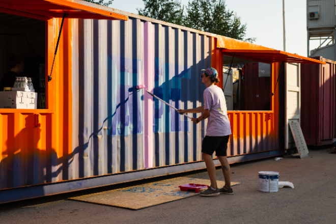 A new open air club has opened in Helsinki