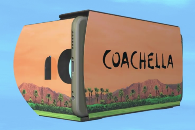 Coachella embraces virtual reality in this year's ticket boxes
