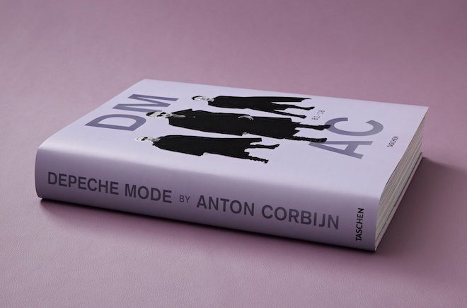 There's a new illustrated history of Depeche Mode by Anton Corbijn