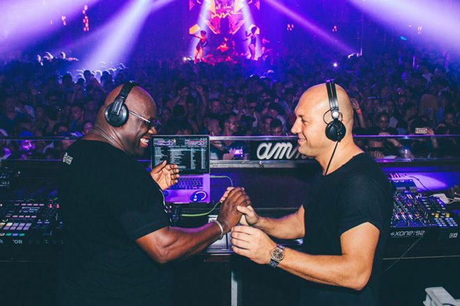 Carl Cox will join Marco Carola at Music On this Friday