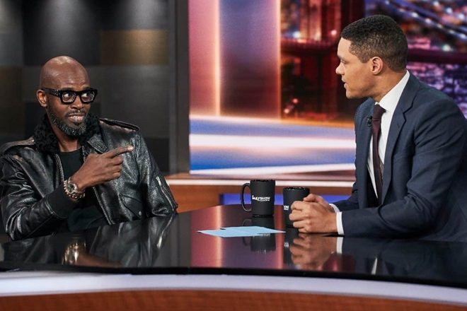 Black Coffee makes guest appearance on The Daily Show