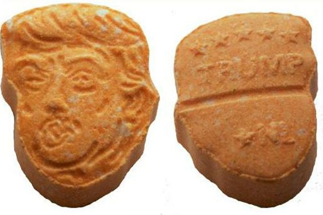 5000 Donald Trump ecstasy pills were seized in Germany