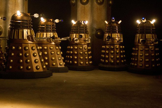 A Dr Who fan has made a synth from a Dalek model