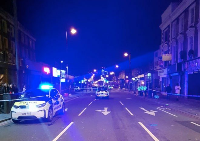 A woman was shot in the leg at an East London nightclub on New Year's Eve