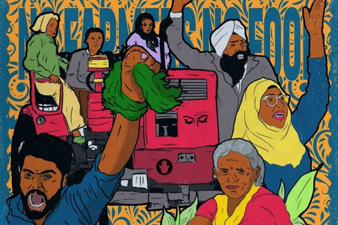 Daytimers and No Nazar present 24-hour fundraiser livestream for protesting farmers in India