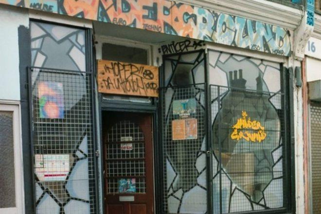 London's De Underground record store awarded heritage plaque