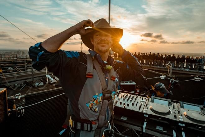 Diplo is the first ever DJ to play a set on top the Sydney Harbour Bridge
