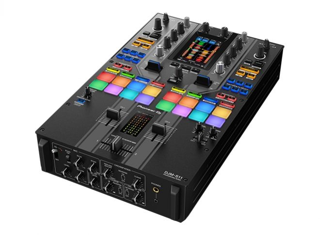 The DJM-S11 is the new scratch-styler mixer from Pioneer DJ