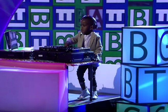 3-year-old DJ Arch Jnr wins South Africa's Got Talent