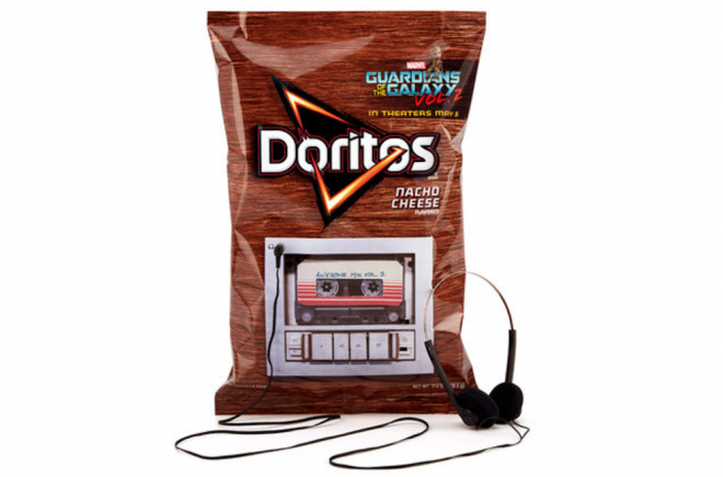 New Doritos bag can play the entire Guardians Of The Galaxy Vol. 2 soundtrack