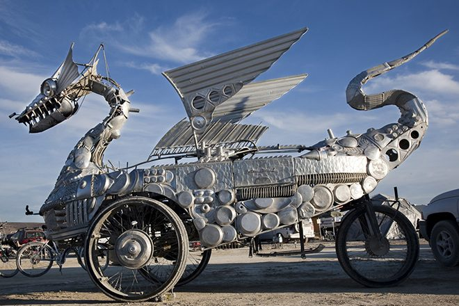 Art from Burning Man will be on display at The Smithsonian