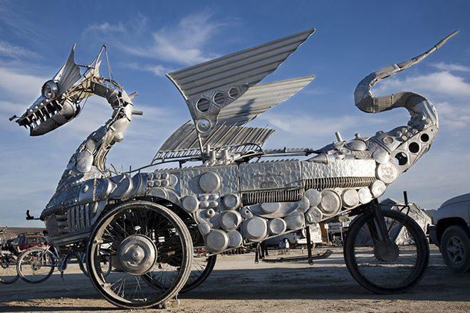 Das Smithsonian zeigt Kunst vom Burning Man
