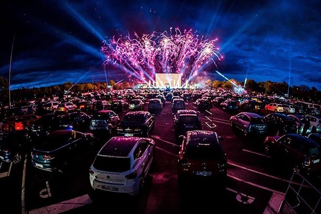 The UK's first drive-in raves have been announced