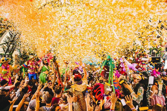Elrow has announced the line-up for its first season at Amnesia Ibiza