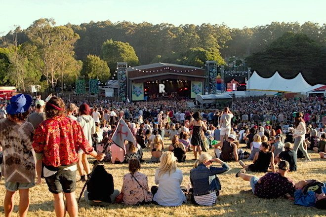 Up to 80 people injured in Falls Festival stampede